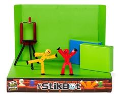 Игровой набор Stikbot «Анимационная студия со сценой»