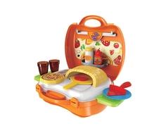 Игровой набор 1TOY «Мастер-Шеф Пицца» в чемоданчике с аксессуарами