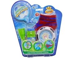 Набор эластичных мыльных пузырей 1TOY «Футбольные Прыгунцы», размер 30-39