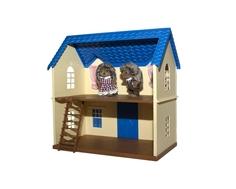 Игровой набор Village Story «Домик с голубой крышей»