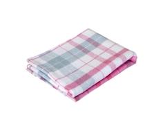 Одеяло-плед Споки Ноки хлопковое 100х140 см клетка