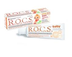 Зубная паста R.O.C.S. Baby «Нежный уход» с рождения Rocs
