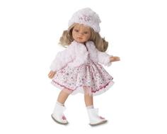 Кукла Munecas Antonio Juan «Эмили» блондинка в зимнем образе 33 см