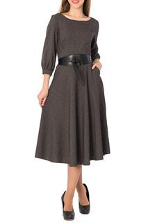 Длинное платье с потайной молнией S&A style