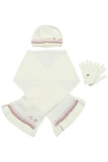Набор: шарф, шапка, перчатки Miss Blumarine