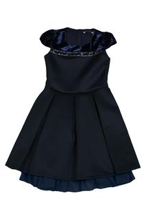 Платье с митенками Miss Blumarine