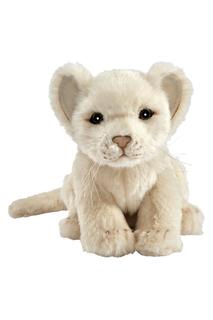 Львенок белый, 17 см Hansa