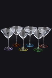 Набор бокалов для мартини 6 шт Crystalite Bohemia