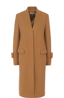 Пальто прямого кроя из смеси шерсти и кашемира Emilio Pucci