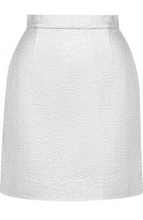 Мини-юбка с широким поясом Carven