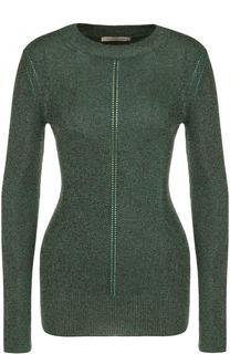 Приталенный пуловер с круглым вырезом Christopher Kane