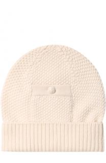 Кашемировая шапка фактурной вязки Barrie
