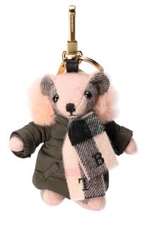 Брелок Thomas Bear в пуховом пальто Burberry