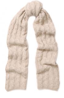 Кашемировый шарф фактурной вязки TSUM Collection