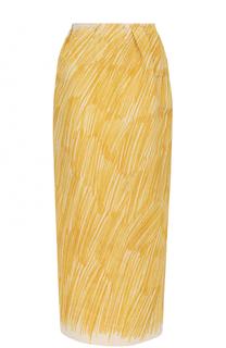 Хлопковая юбка-карандаш Vika Gazinskaya