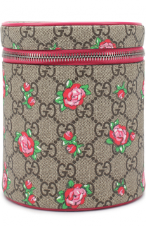 Текстильная сумка с принтом Gucci