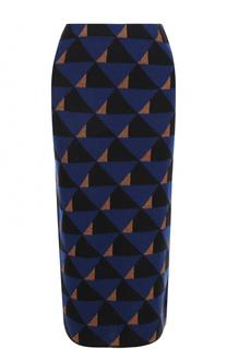 Шерстяная юбка-карандаш Dries Van Noten