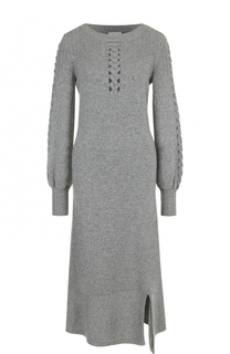 Приталенное кашемировое платье-миди Barrie