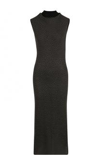 Приталенное платье-миди с разрезом на спинке Roland Mouret