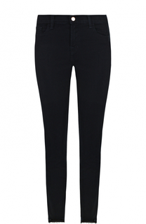 Однотонные джинсы-скинни с потертостями J Brand