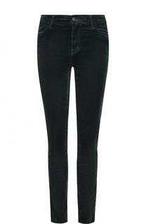 Бархатные джинсы-скинни J Brand