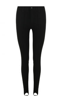 Однотонные джинсы-скинни со штрипками J Brand