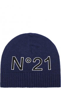 Шапка с логотипом бренда No. 21