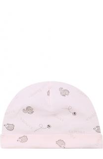Хлопковая шапка с принтом La Perla