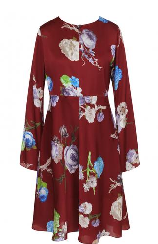 Платье-миди с завышенной талией и принтом Acne Studios