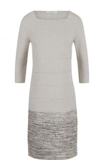 Платье с круглым вырезом и укороченным рукавом D.Exterior