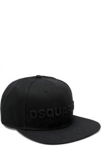 Бейсболка с логотипом бренда Dsquared2