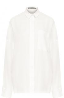 Однотонная блуза свободного кроя Haider Ackermann