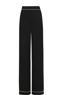 Расклешенные брюки с контрастной отделкой Weill