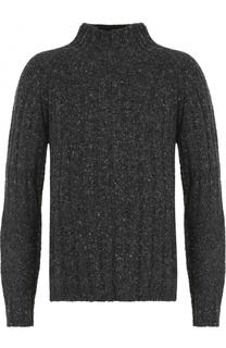 Шерстяной свитер фактурной вязки Burberry