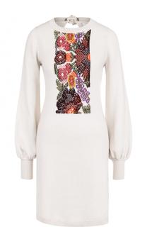 Кашемировое приталенное платье-миди Barrie