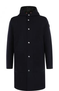 Пальто Callao из смеси шерсти и кашемира с пуховой подстежкой Moncler