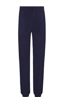 Кашемировые брюки с поясом на кулиске Kiton