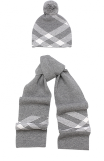 Комплект из шапки и шарфа Burberry