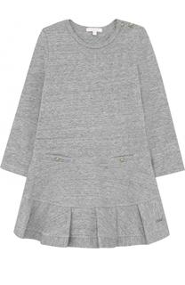 Платье джерси с оборкой Chloé