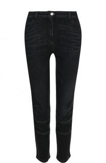 Укороченные джинсы с потертостями Belstaff
