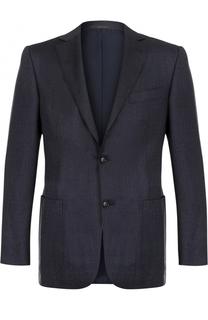 Однобортный пиджак из смеси шерсти и кашемира Pal Zileri