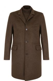Однобортное кашемировое пальто с подстежкой Loro Piana