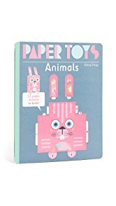 Books with Style Childs Paper Toys Animals