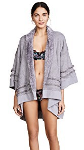 Honeydew Intimates Hold Me Tight Reversible Wrap Cardigan