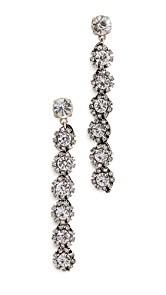 Lulu Frost Royale Crystal Line Earrings