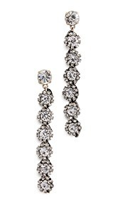 Lulu Frost Royale Crystal Line Earrings