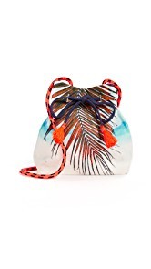 Samudra Maldives Palm Bucket Bag