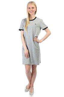 Платье женское Fred Perry Ringer T-shirt Dress Grey
