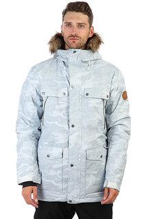 Куртка утепленная Quiksilver Selector White Camokazi