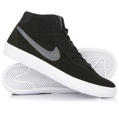 Кеды кроссовки высокие женские Nike Sb Bruin Hi Black